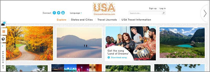 The Bop Design 2012 Website Olympics
