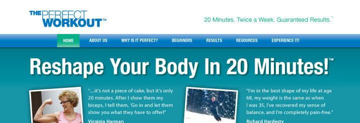 The-Perfect-Workout-Website