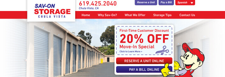 Savon-Storage-Website