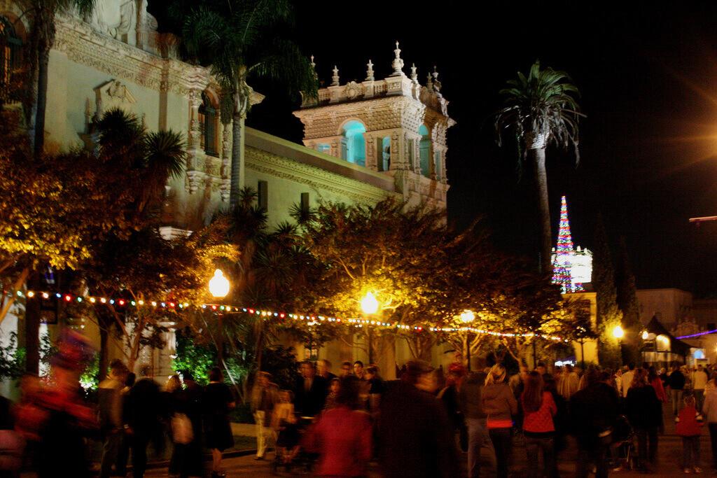 December Nights in Balboa Park. Image credit: Flickr