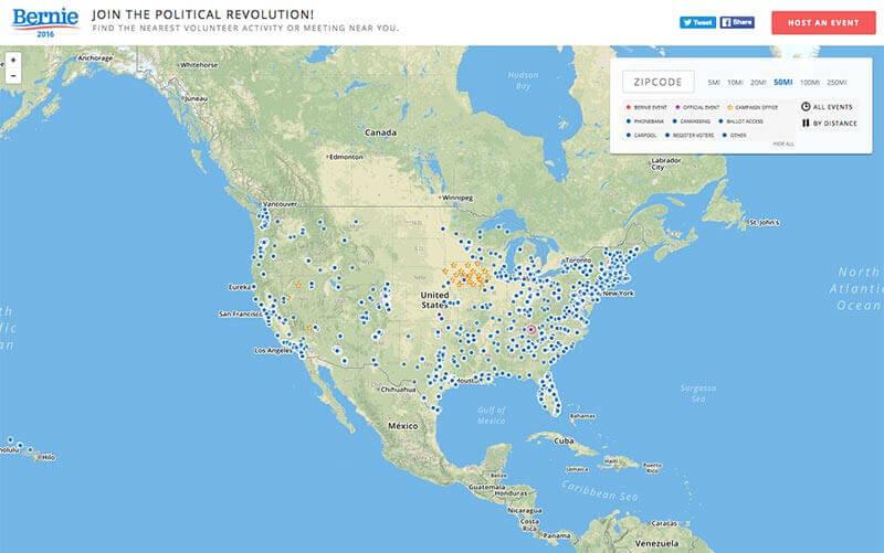 Bernie-Map