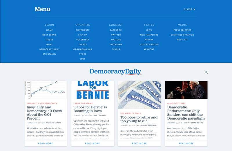 Bernie---Navigation