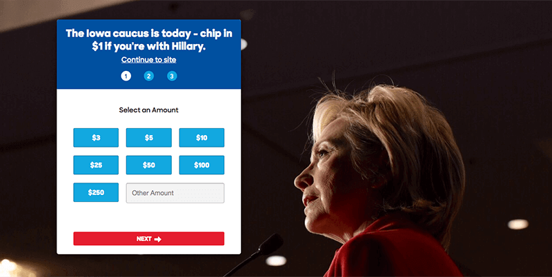 Hilary - Landing Page