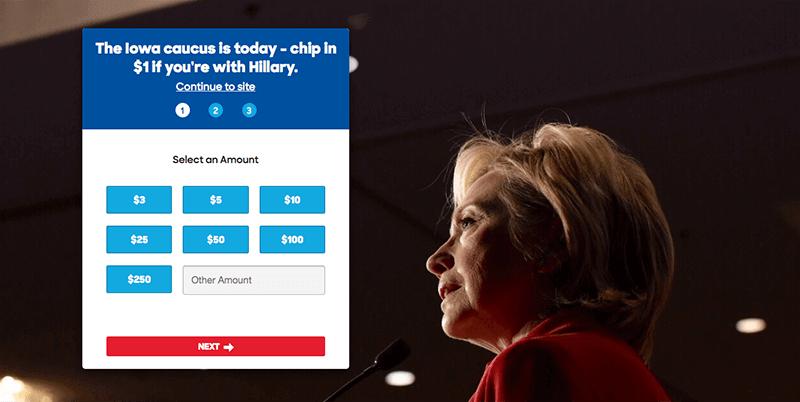 Hilary - Landing Page