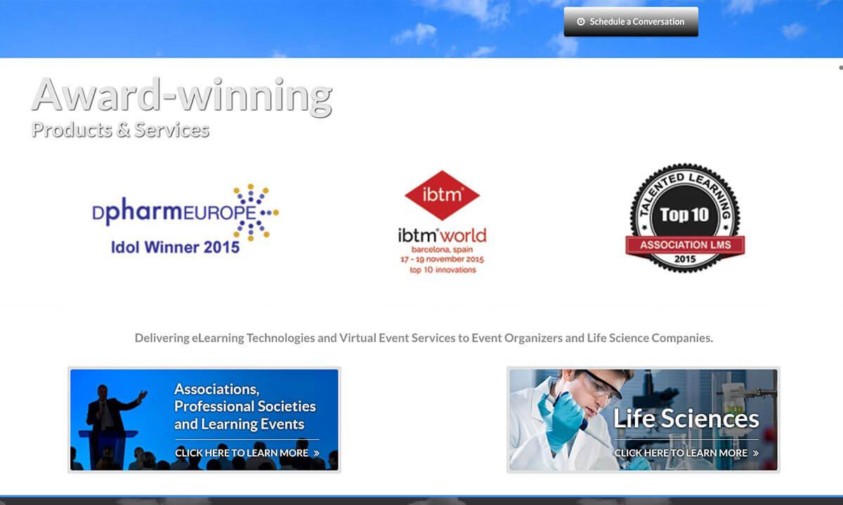 Blue Sky eLearn website before v1