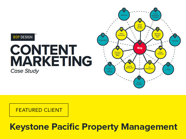 Keystone Pacific Property Management content marketing case study image