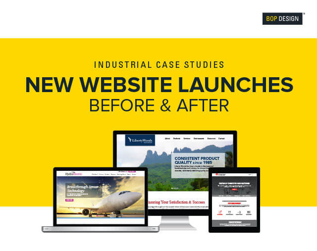 B2b website design development for industrial companies for Industrial design sites