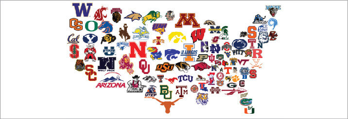 top 5 best college football logo designs and how this applies to