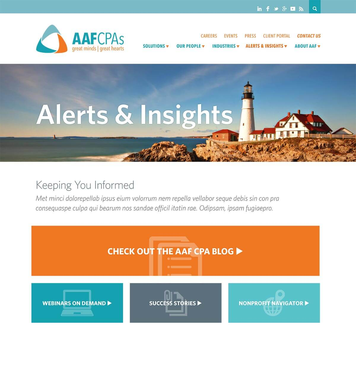 AAFCAPAs alerts and insights page