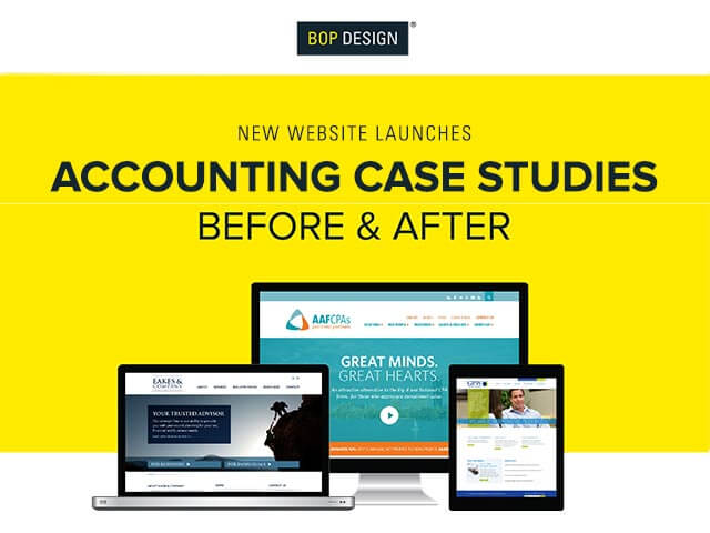 Accounting Firm Website Design, Branding + Marketing Services