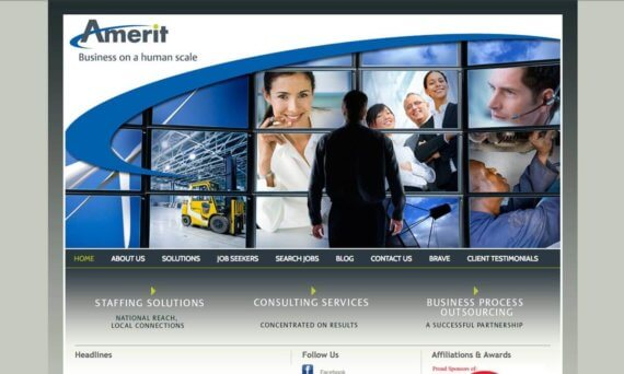 Amerit website before v1