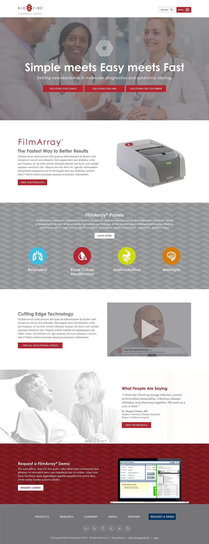 Biofire website home page v2
