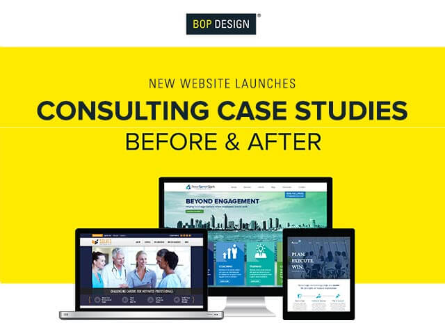 Website for case studies