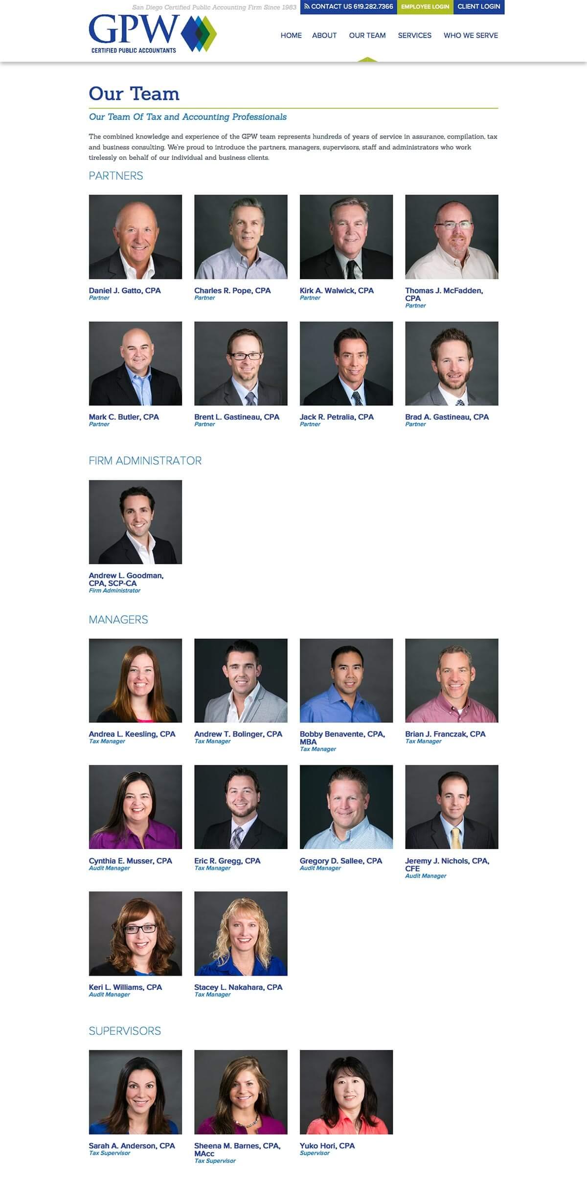 Website Design for Accounting Firms   San Diego B2B Marketing Agency