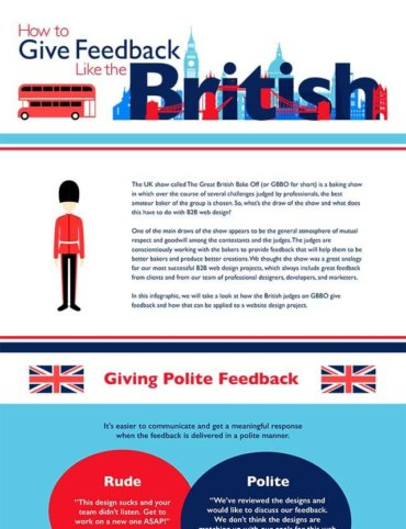 Read How to Give Feedback Like The British