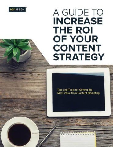 Read Increase the ROI of Your Content<br> Strategy