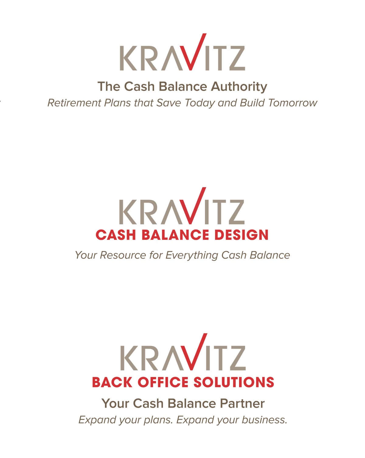 Kravitz financial services logos