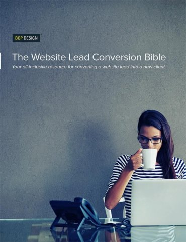 Read The Website Lead Conversion Bible