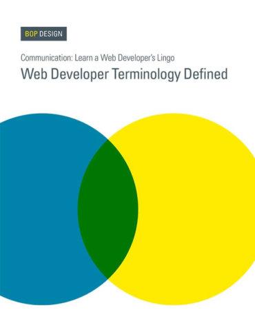 Read Web Developer Terminology Defined