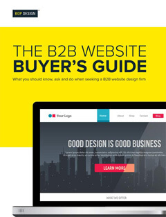 Bop Design B2B website buyer's guide thumbnail