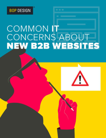 Read Common IT Concerns About New B2B Websites