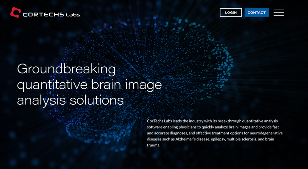 Website Design for CorTech Labs